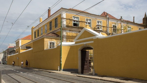 The exterior of the Bom Sucesso convent in Belem outsie Lisbon. Photo: Patrimoniocultural.cm-lisboa.pt