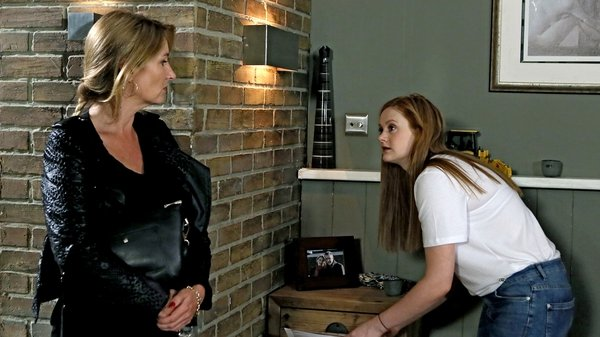 Carol catches Karen going through Robbie's stuff