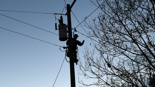 The ESB says power has been restored to most of the effected areas