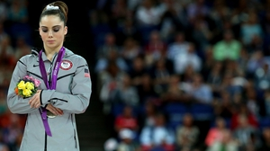 Maroney says she was abused before winning medals at London 2012