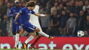 Luiz scores for Chelsea