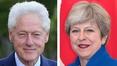 Bill Clinton to discuss NI crisis with Theresa May