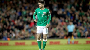 Sean Maguire earned his first Ireland cap last year