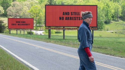 Frances McDormand is outstanding