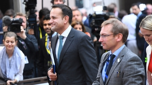 Leo Varadkar said he is confident that a hard Brexit can be achieved