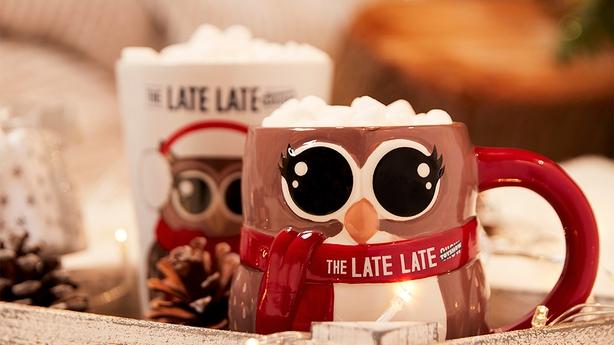 Hot chocolate mugs €6
