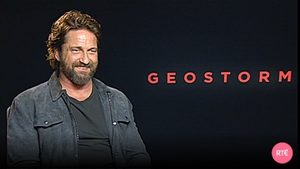 "Gerard Butler - ""The more I think about it I got quite lucky because I went through the air."""