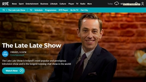 RTE.ie has redesigned and revamped its TV section