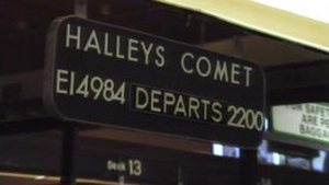 All aboard for Halley's Comet