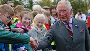 Prince Charles is on a visit to Derry