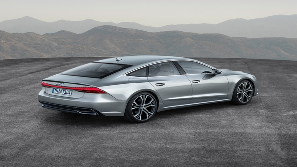 The A7 Sportback's four and six-cylinder engines will also feature a small battery for