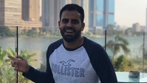 Ibrahim Halawa said that he can now 'walk freely and smile deeply from the bottom of my heart'