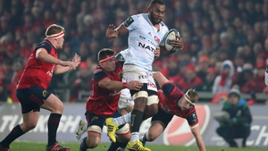 Leone Nakarawa in action against Munster last season