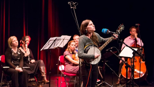 Folk singer Hanora George features in the Sunday Miscellany Live special from the Red Line Book Festival