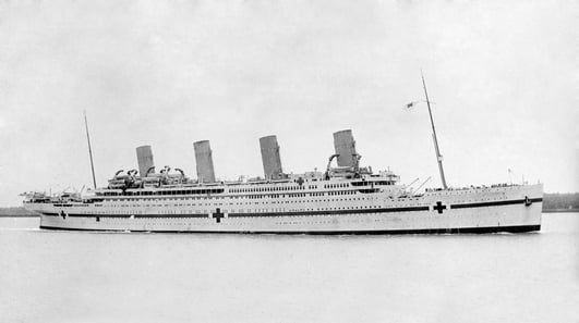The Britannic and Olympic