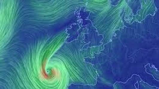 Storm Ophelia - damage