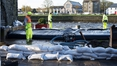 Storm Brian brings high winds and spot flooding