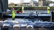 Water levels are monitored at Spanish Arch in Galway