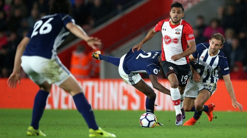 Sofiane Boufal breaks through on his way to scoring the only goal of the game