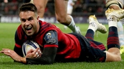 Munster's Conor Murray scores his sides first try