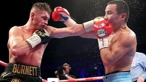 Ryan Burnett and Zhanat Zhakiyanov stood toe-to-toe for the majority of their world title showdown