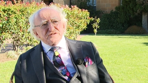 President Michael D Higgins says he will make a decision on a second term in fullness of time