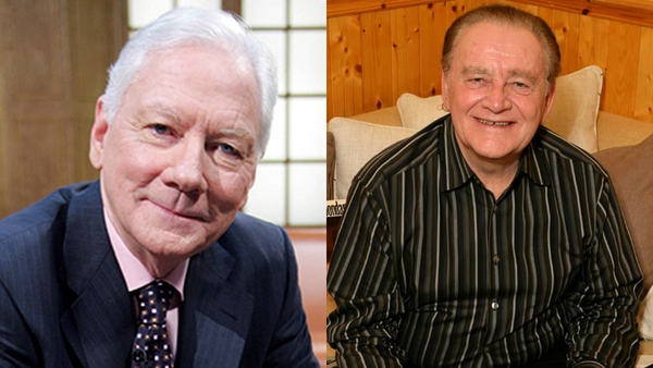 """Gay Byrne - """"No matter who they are, no matter where they are, they will all say the same thing to you: 'We are Larry Gogan fans'"""""""