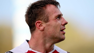 Tommy Bowe scored his 29th try in Europe