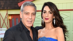 Amal Clooney with husband George: Amal's new award honours young women