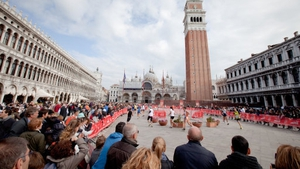 Runners were sent the wrong way during the Venice Marathon