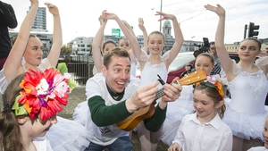Ryan Tubridy kicked-off the Toy Show auditions in Cork