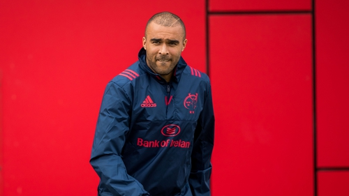 Simon Zebo is to leave Munster at the end of the season
