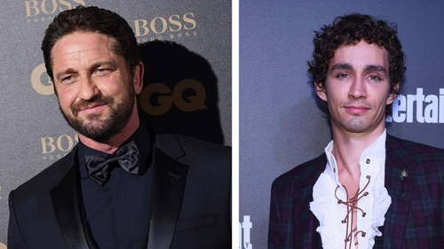 """Gerard Butler - """"There's nobody quite like Robert Sheehan. He's so charismatic and he's the best actor that I've worked with in a long time."""""""