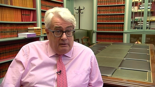 Mr Justice Frank Clarke says he is in favour of giving the public the opportunity to understand what happens in the courts