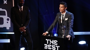 Cristiano Ronaldo has won the FIFA men's player of the year award for the second year running