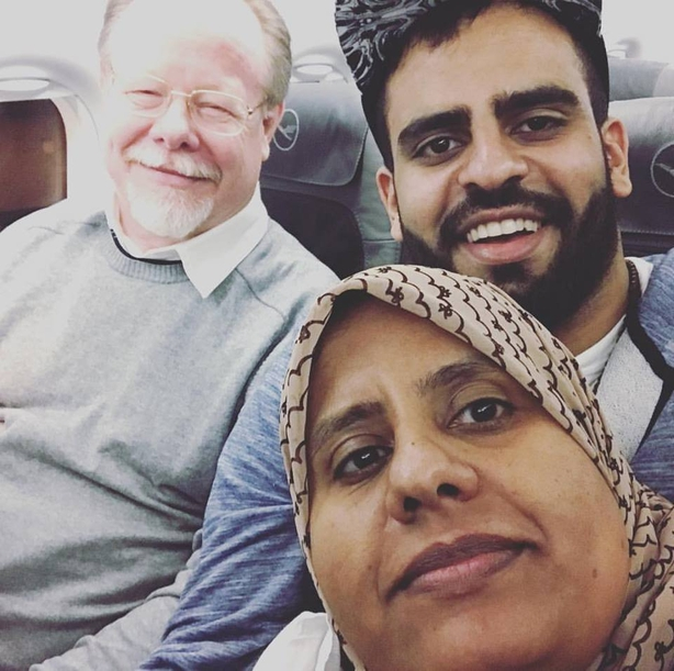 Ibrahim Halawa on flight back to Ireland