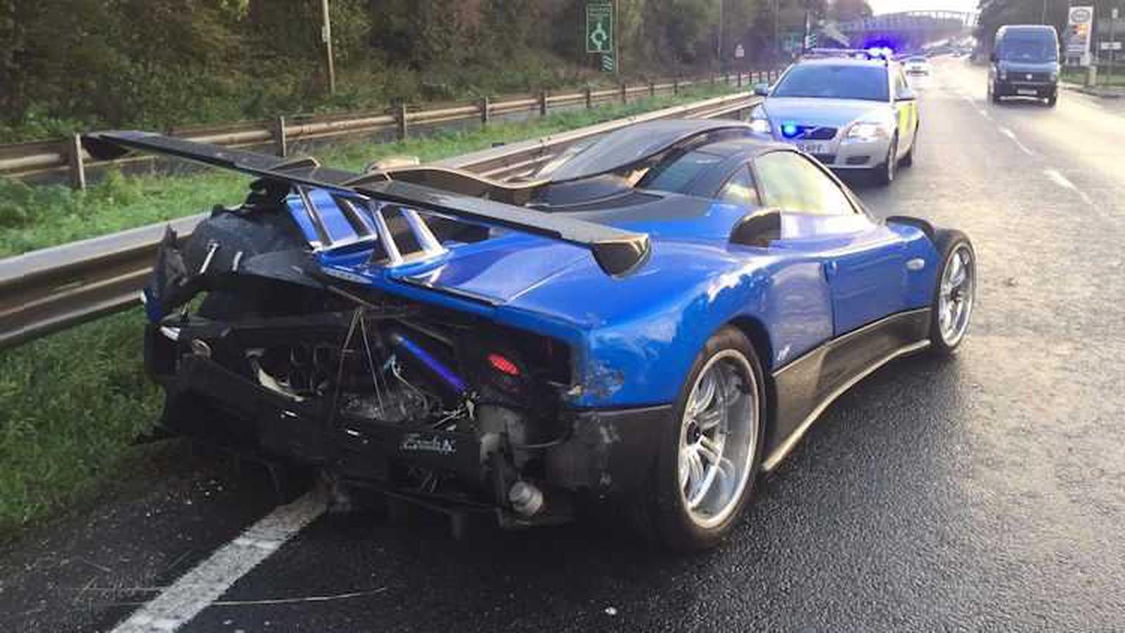 The 1 7 Million Motorway Crash Involving An Italian Supercar