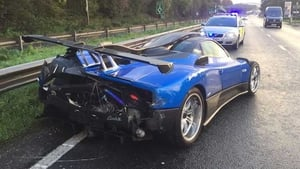 The Zonda costs about £1.5 million in the UK. Police want to know what happened this one.