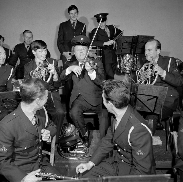 Harry Bailey with the Army No 1 Band (1969)
