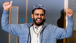 Ibrahim Halawa pictured on his return to Ireland
