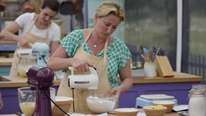 Stacey Hart before 'disaster' struck last night on GBBO