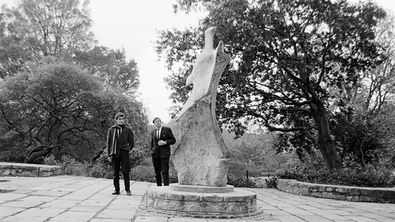 WB Yeats Statue in St Stephen's Green (1967)