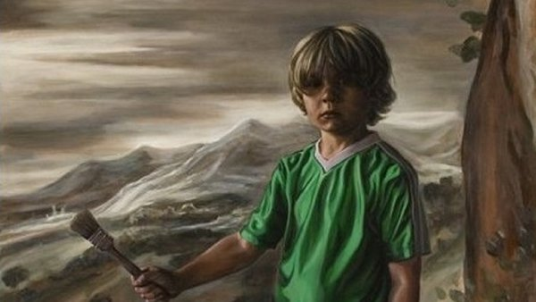 Detail from Boy (2008) by Geraldine O'Neill