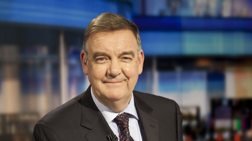 Bryan Dobson co-presented the Six One News for 21 years