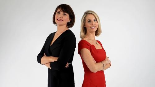 Keelin Shanley and Caitríona Perry will present RTÉ Six One News from January 2018