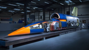 The BLOODHOUND project aims to eventually achieve a land speed of over 1600 KPH.
