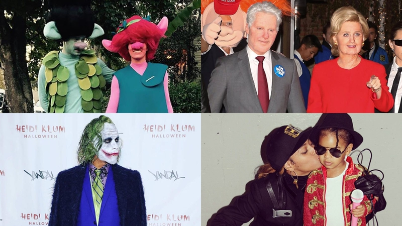 The stars sure do Halloween in style! Images Instagram  sc 1 st  RTE & Fright night! Our favourite celeb Halloween costumes