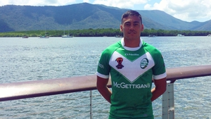 Mikey Russell is with the Ireland squad in Australia