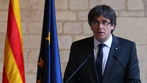 Catalan leader Carles Puigdemont was expected to announce an election