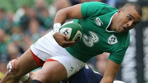 Racing 92's Simon Zebo last played for Ireland in 2017